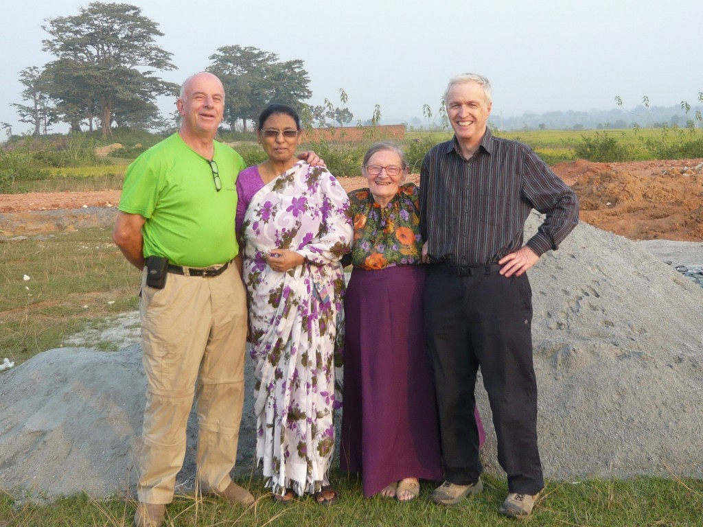 Ian, Pushpa, Shirley and Rector