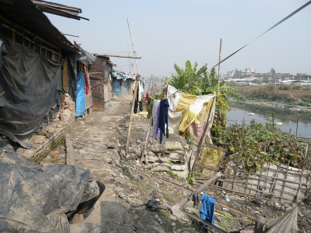 Part of Balkhu Slum